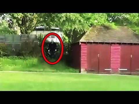 12 Scariest Slender Man Sightings Caught on Tape