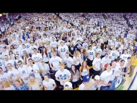 I Believe That We Will Win - Utah State University (USU) Basketball Chant! HD