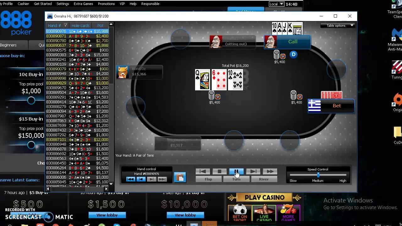 Poker 888 Rigged