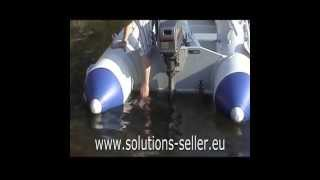 Foldable Launching Wheels For Inflatable Boats Made Of Stainless Steel