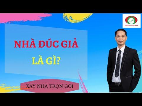 Chia sẻ kinh nghiệm xây nhà đúc giả. Nhà đúc giả là gì? Xây nhà trọn gói - Thiên Phú Việt Nam