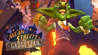 Official CInematic Trailer - Hearthstone: Mean Streets of Gadgetzan | BlizzCon 2016
