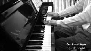 Ferdinand Beyer Op. 101 No. 66 - piano