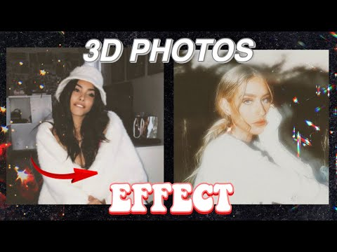 3D PHOTOS EFFECT With APPS // IOS & Android