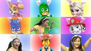Disney Princess GIANT SMASH Toy Game Show with Paw Patrol Skye