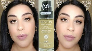 Revlon Colorstay Normal Dry Foundation Review Wear Test