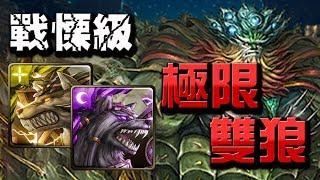 【Hsu】極限雙狼👉4秒轉珠的雙狼隊!!仙人掌戰慄級【神魔之塔】