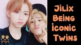 Jilix (Han x Felix) Being Iconic Twins