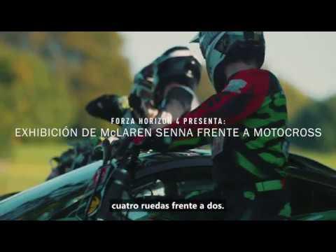 Forza Horizon 4 presenta el evento de exhibición real de McLaren Senna Vs Motocross thumbnail