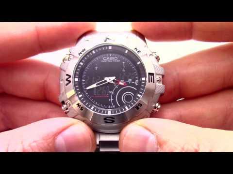 Casio Outgear AMW 705D 1A инструкция, как настроить от President Watches Ru