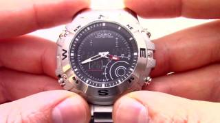 Casio Outgear AMW 705D 1A інструкція, як налаштувати від President Watches ru