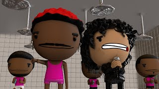 """Lil Nas X Ft Michael Jackson """"Beat it Industry baby!"""" (Animated Music Video)"""