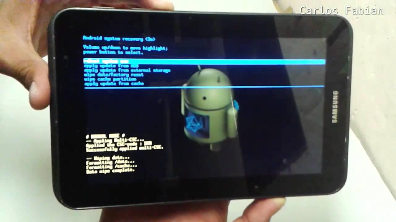Desbloquear Tablet Samsung Youtube