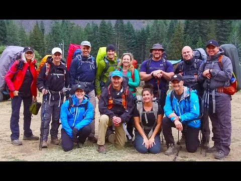 Sacagawea Crucible Expedition, Wallowa Mountains - Sep 2017