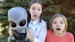 We Found an ALIEN BABY in Our Yard!