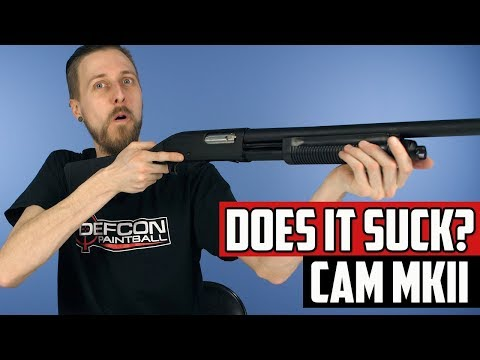 Does It Suck? CAM MKII Paintball/Airsoft Shotgun  Ep. 21 - 4K