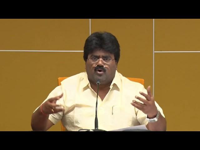 Sri Koona Ravi Kumar Addressing the Media About YCP Land Mafia in Visakhapatnam - Live