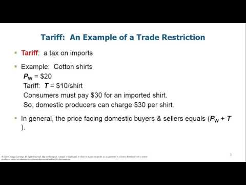 Microeconomics Chapter 9 Int'l Trade Costs
