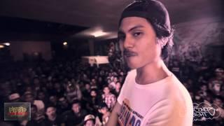 FlipTop - Zaito + Sak Maestro vs Fongger @ Isabuhay 2015
