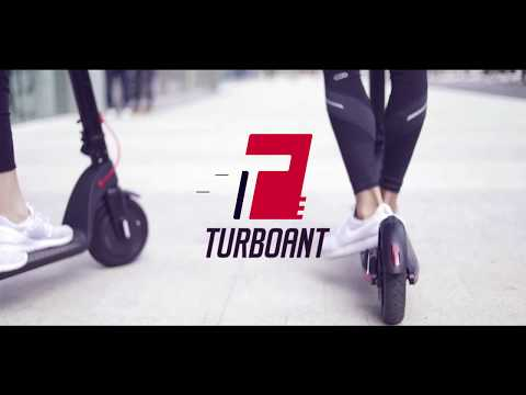 X7!Turboant First Electric Scooter!