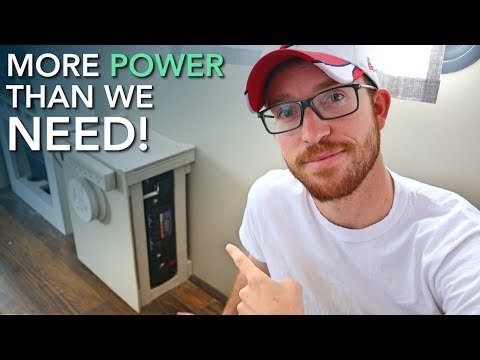 Connecting the Inverter to Our DIY Off Grid RV Solar Power System