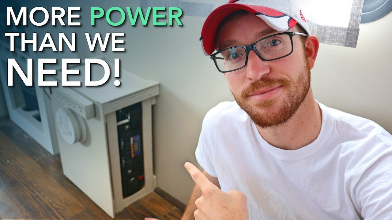 Connecting The Inverter To Our Diy Off Grid Rv Solar Power System How Build A100 Watt Pure Sine Wave Circuit Homemade