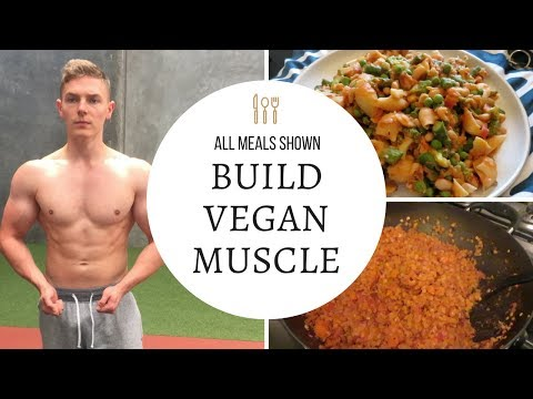 Vegan Full Day Of Eating For Muscle Gain | My Current Diet