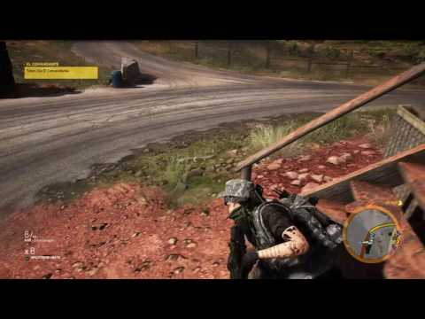 Ghost Recon Wildlands - The killing of El Comandante (Extrem Difficulty)
