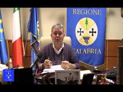 Il video della diretta di Spirlì: «In Calabria serve una sanità vera, non solo per il Covid»