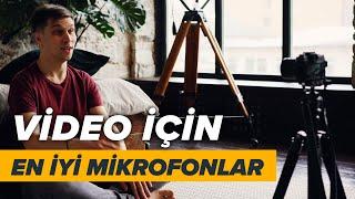Video İçin En Uygun Mikrofon Türleri Nelerdir?  | Kablosuz Yaka Mikrofon & Shotgun Mikrofon