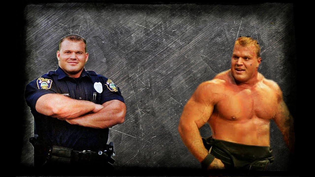 Derek Poundstone The biggest policeman in the world - YouTube Derek Poundstone Images