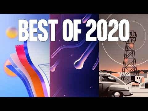 The Best Motion Design & Animation of 2020 (So Far...)
