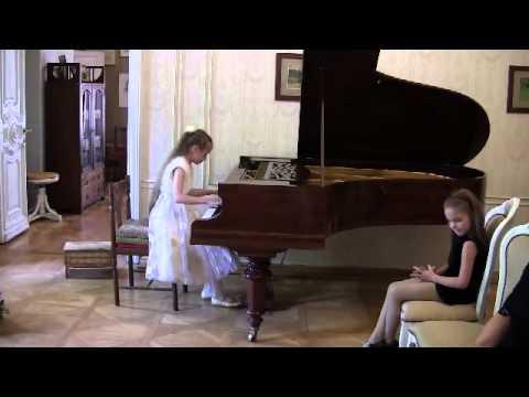 Екатерина Евменьева 9 лет. Ф.Мендельсон Песня венецианского гондольера.