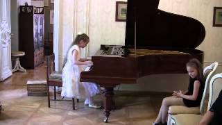 Екатерина Евменьева 9 лет Ф Мендельсон Песня венецианского гондольера