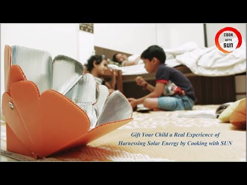 EasyCook - A Toy Solar Cooker For Children To Explore Solar Energy By Cooking With Sun