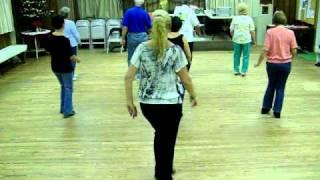 honky tonk boots line dance - demo