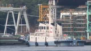 因島造船所に SUNLIGHT ACE 入渠