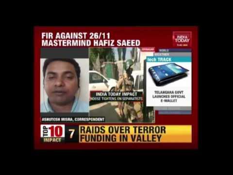 NIA Raid Houses Of Stung Separatists