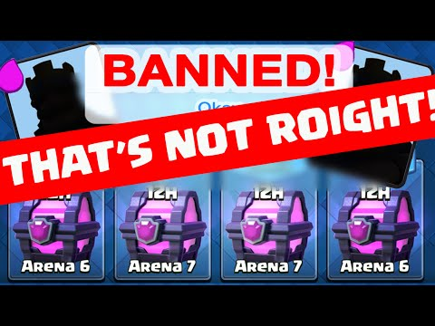 Clash Royale - BANNED - That's NOT ROOOIGHT!