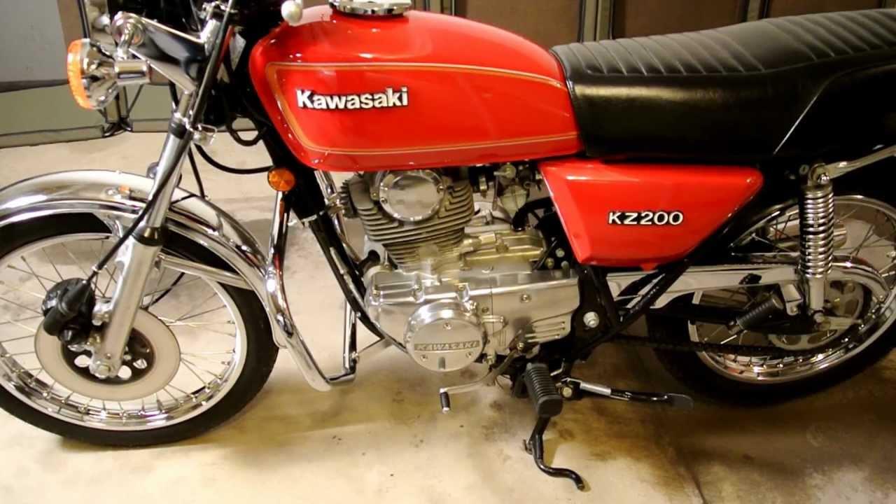 1979 kawasaki kz200 24 feb 2013 youtube rh youtube com