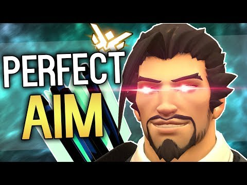 Everything you need to know to get the Perfect Aim with Hanzo - Overwatch Tutorial/Guide