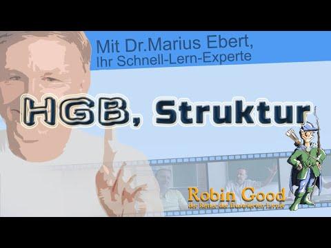 HGB, Struktur