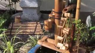 プラミニ池と和風庭園