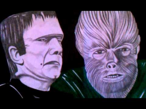 Frankenstein meets the Wolfman finished