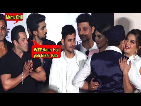 Salman Khan Gets ANGRY On Jacqueline Fernandez As She HUGS A Stranger At RACE 3 Trailer Launch