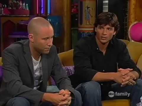 with Michael Rosenbaum and Tom Welling