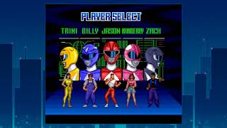Mighty Morphing Power Rangers (SNES) - Long Play