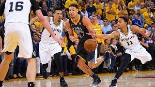 Durant, Klay Drop 30+ Draymond Flagrant Game 2! 2018 NBA Playoffs