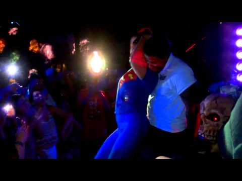 @Rimanelli (Rima) From Bad Girls Club Give Security A Lap Dance.