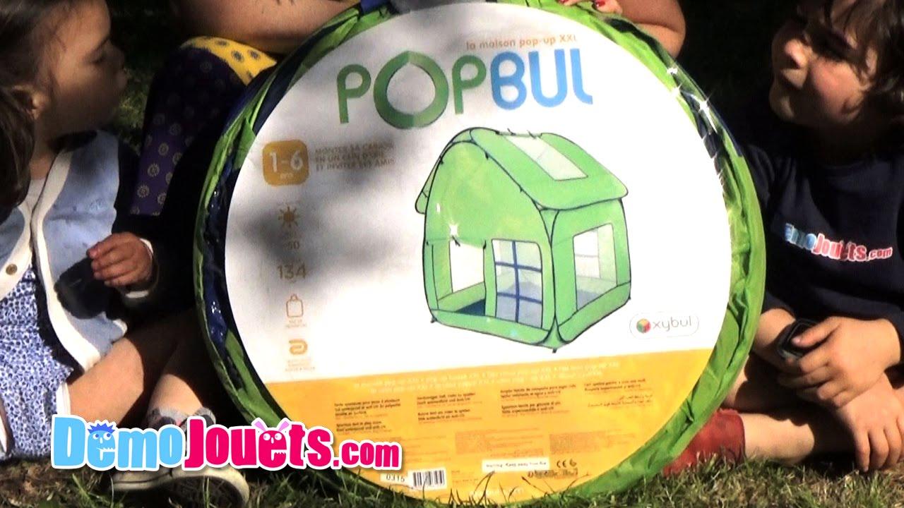 JEU] Maison Cabane Jardin Popbul de Oxybul - Démo jouets - YouTube